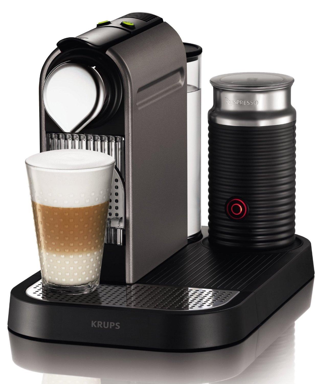 Krups-XN-730T-Kapselmaschine-Nespresso-CitiZ-milk Nespresso Citiz